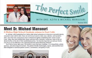 The Perfect Smile PDF file cover - Summer 2011
