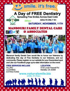 Free Dentistry Day 2017 - poster