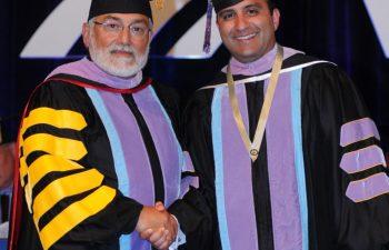 Dr. Fares M Elias AGD President & Dr. Michael