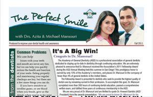 The Perfect Smile PDF file cover – Fall 2011