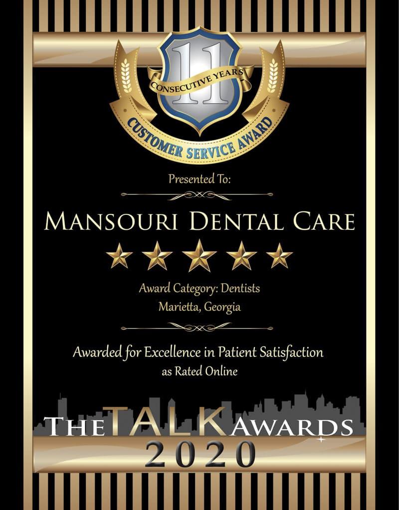 TALK 2020 Award